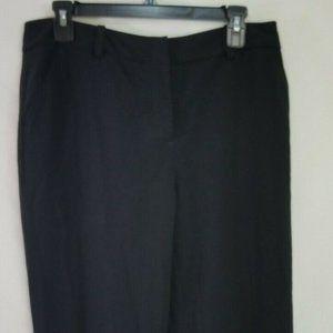 Womens Apostrophe Size 8 Naomi Black Dress Pants